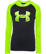 Boys' Under Armour UA Tech Hooded Shirt