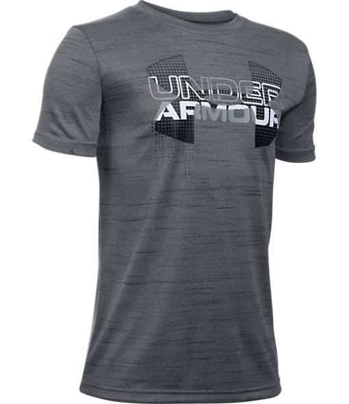 Boys' Under Armour Big Logo Hybrid T-Shirt