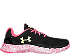 Girls' Grade School Under Armour Flow Swirl Running Shoes