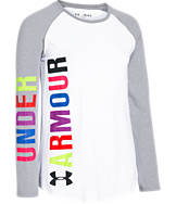 Girls' Under Armour Favorite Long-Sleeve T-Shirt