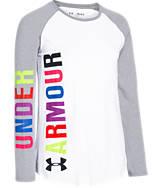 Girls' Under Armour Favorite Long-Sleeve T-Shirt