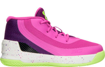 GIRLS' TODDLER UNDER ARMOUR CURRY 3