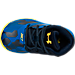 Top view of Boys' Toddler Under Armour Curry 2.5 Basketball Shoes in Blue/Gold - Away