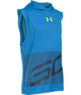Boys' Under Armour SC30 Sleeveless Hoodie