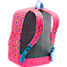 Back view of Girls' Under Armour Favorite Backpack in Harmony Red