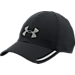 Front view of Under Armour Shadow ArmourVent Adjustable Hat in Black
