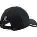 Back view of Under Armour Shadow ArmourVent Adjustable Hat in Black