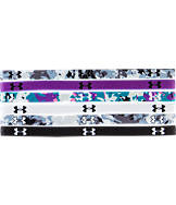 Women's Under Armour Mini Graphic 6-Pack Headbands