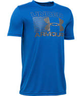 Boys' Under Armour Streak Logo Short Sleeve T-Shirt