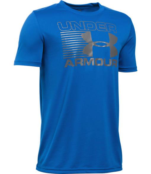Boys' Under Armour Streak Logo Short Sleeve T-Shirt