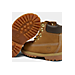 Front view of Timberland Toddler 6 Inch Classic Boots in Wheat