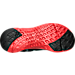 Bottom view of Boys' Grade School Under Armour Flow Digi Camo Running Shoes in Black/Red/Steel/Graphite