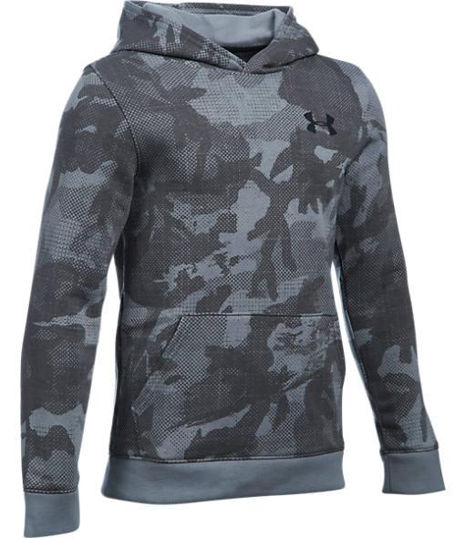 Boys' Under Armour Sportstyle Printed Fleece Hoodie