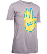 Boys' Under Armour SC30 Behind The Line T-Shirt