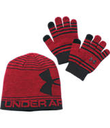 Kids' Under Armour Beanie and Glove Combo