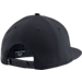 Back view of Men's Under Armour SC30 Core Snapback Hat in Black/Steel