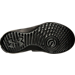 Bottom view of Men's Under Armour Curry Slide Sandals in Black/White