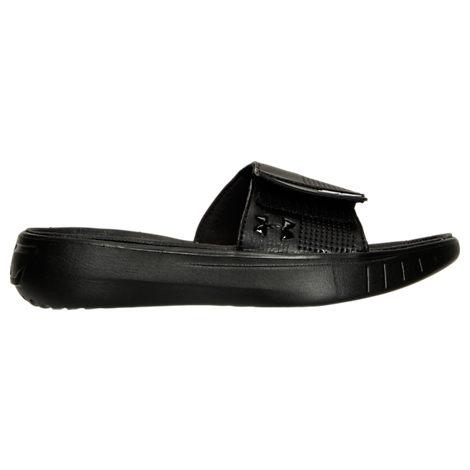 Boys' Grade School Under Armour Curry 3 Slide Sandals