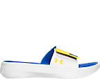 Boys' Grade School Under Armour Curry 3 Slide Sandals