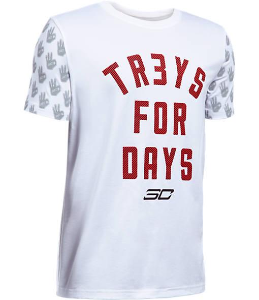 Boys' Under Armour SC30 Tr3ys For Days T-Shirt