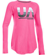Girls' Under Armour Fade Long-Sleeve T-Shirt