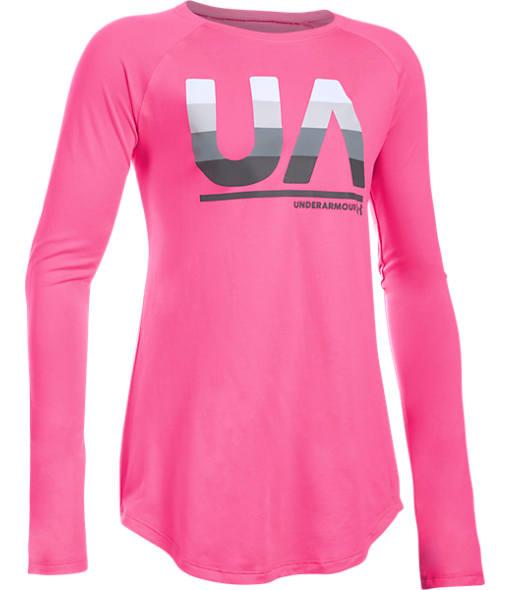 Girls' Under Armour Fade Long-Sleeve T-Shirt