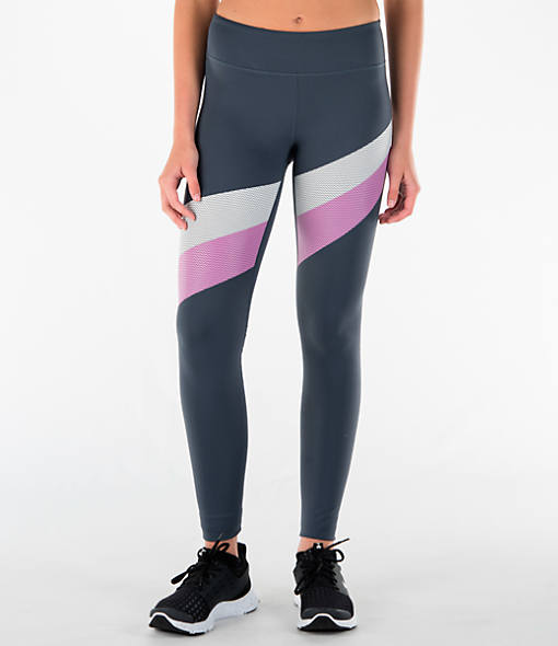 Women's Under Armour Mirror Stripe Leggings