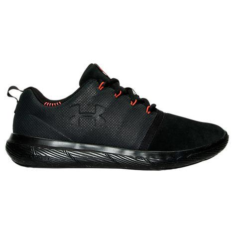 Boys' Grade School Under Armour 24/7 Low Suede Casual Shoes