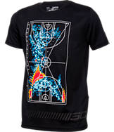 Boys' Under Armour SC30 Storm Heat Map T-Shirt