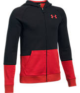 Boys' Under Armour Sportstyle Iso Full-Zip Hoodie