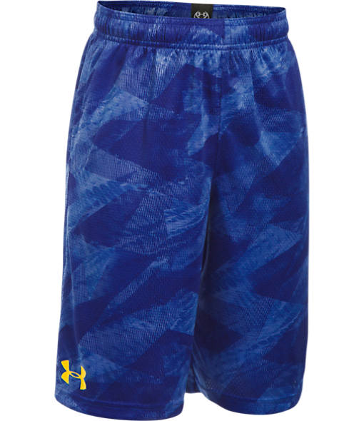 Boys' Under Armour SC30 Essentials Printed Basketball Shorts
