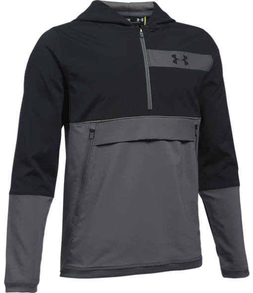 Boys' Under Armour Woven Breaker Anorak Jacket