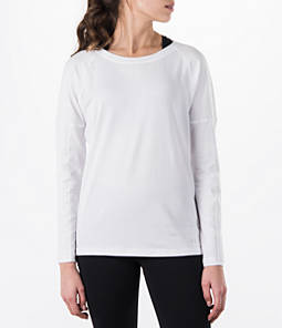 Women's Under Armour Favorite Rest Day Long Sleeve T-Shirt Product Image