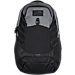 Front view of Under Armour Hudson Backpack in Black/Heather Grey