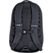 Back view of Under Armour Hudson Backpack in Black/Heather Grey