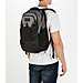 Alternate view of Under Armour Hudson Backpack in Black/Heather Grey
