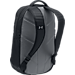 Back view of Under Armour Hustle 3.0 Backpack in Black/White