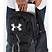 Alternate view of Under Armour Hustle 3.0 Backpack in Black/White