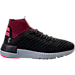 Right view of Women's Under Armour Highlight Delta 2 Running Shoes in Black/Pink/Grey