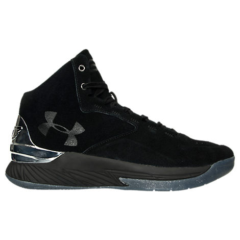 Men's Under Armour Curry 1 Luxury Mid Suede Off-Court Shoes
