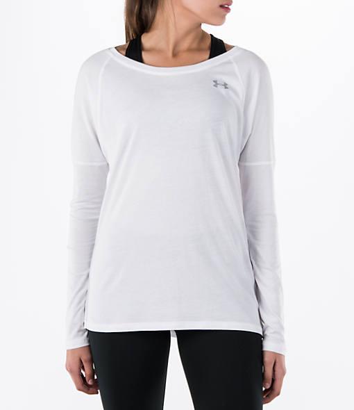 Women's Under Armour Cotton Modal Favorite Long-Sleeve Shirt