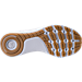 Bottom view of Boys' Grade School Threadborne Slingflex Running Shoes in White/White/White