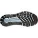 Bottom view of Men's Under Armour Slingride Herringbone Running Shoes in Black/Grey