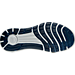 Bottom view of Men's Under Armour Slingride Herringbone Running Shoes in Navy/Black
