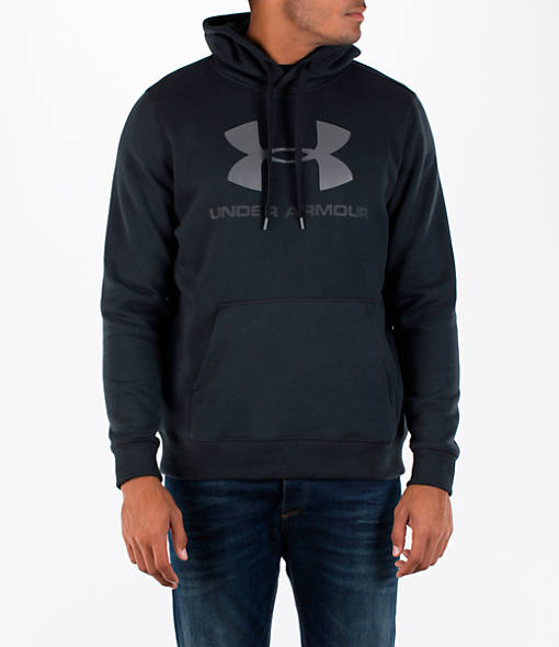 Men's Under Armour Rival Graphic Fitted Hoodie