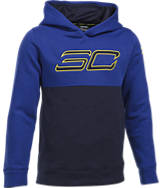 Boys' Under Armour SC30 Fleece Logo Training Hoodie