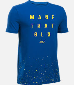 Boys' Under Armour SC30 Made That Old T-Shirt Product Image
