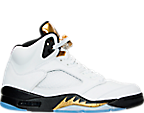 Men's Jordan Retro 5 Basketball Shoes