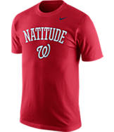 Men's Nike Washington Nationals MLB Local Phrase T-Shirt