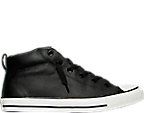 Men's Converse Chuck Taylor All Star Street Mid Leather Casual Shoes